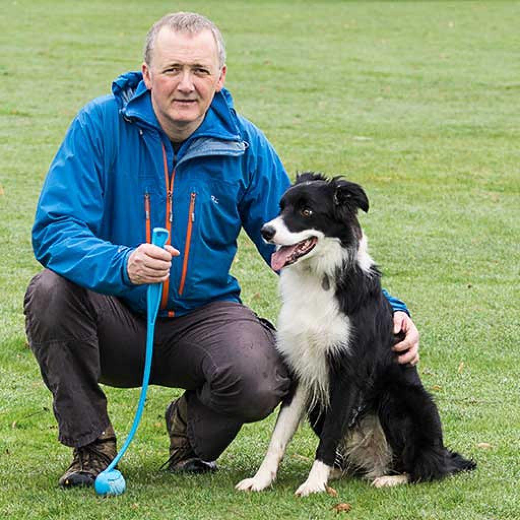 Northampton Dog Walker Gary Box and Archie