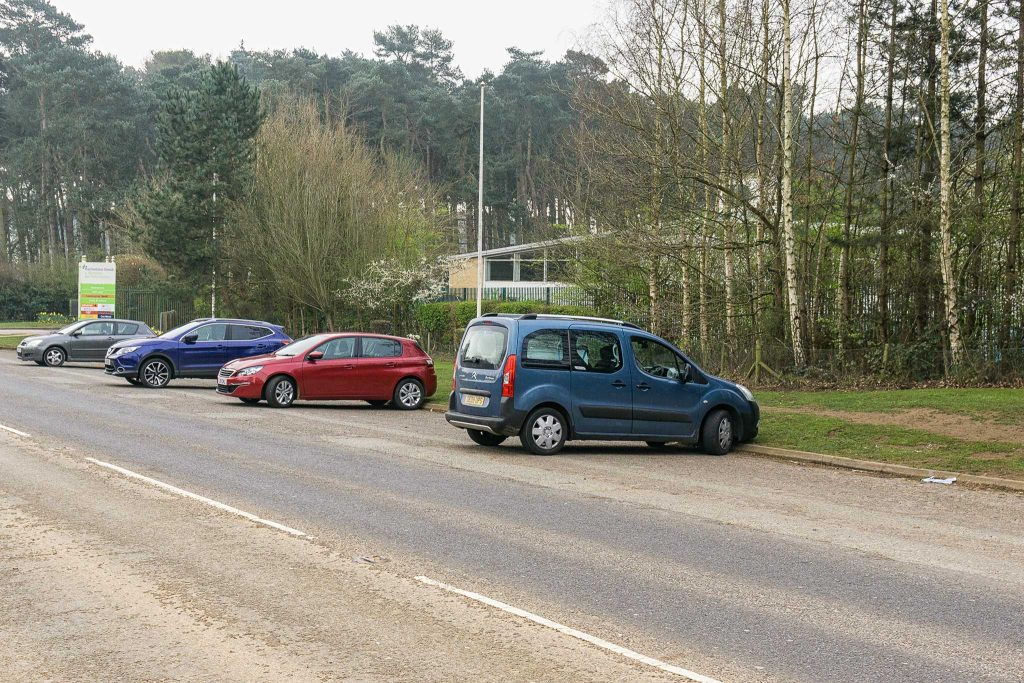 Harlestone Firs Parking