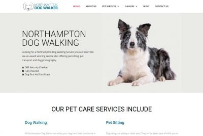 Dog Walking Website