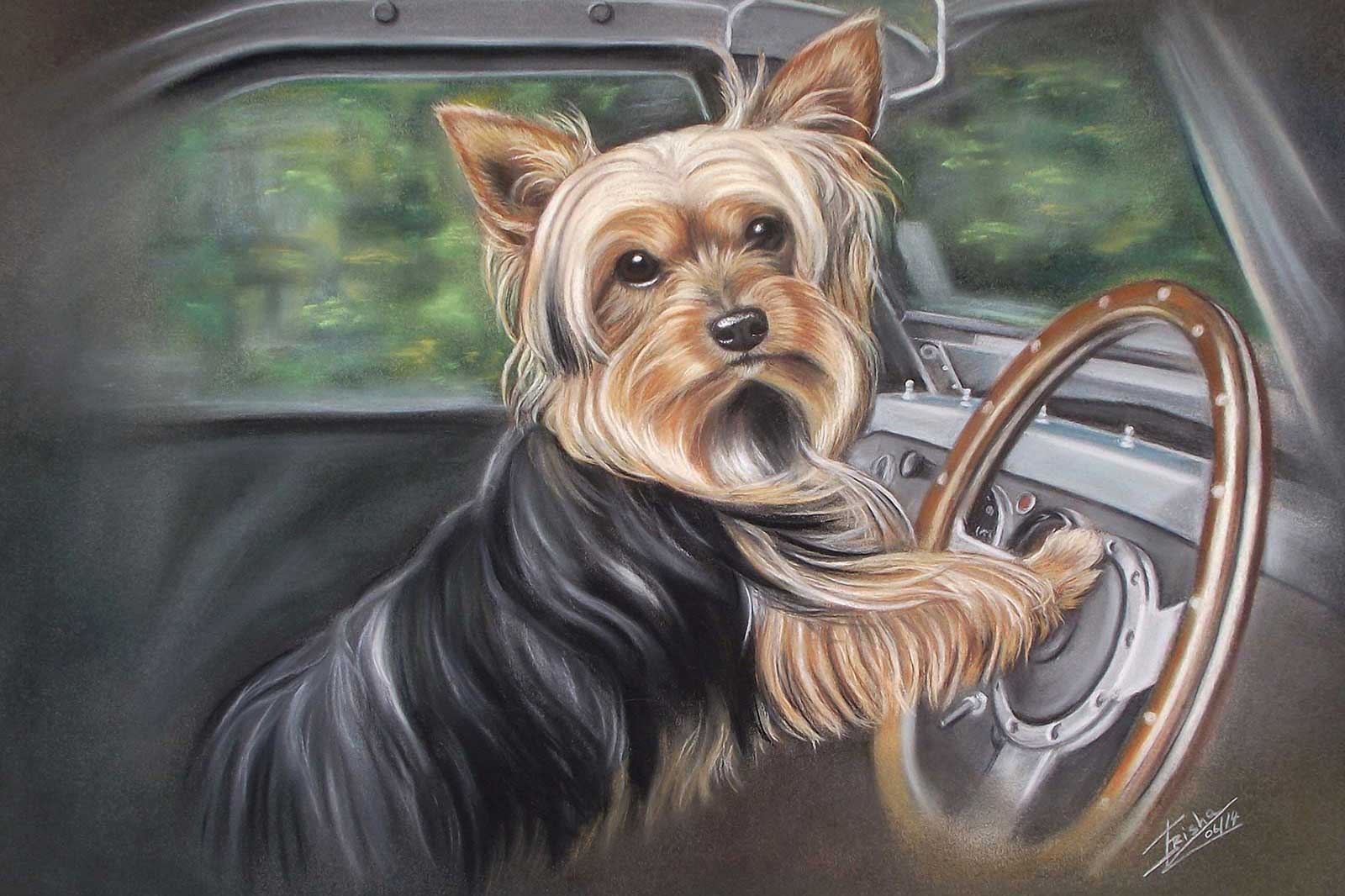 Dog Painter