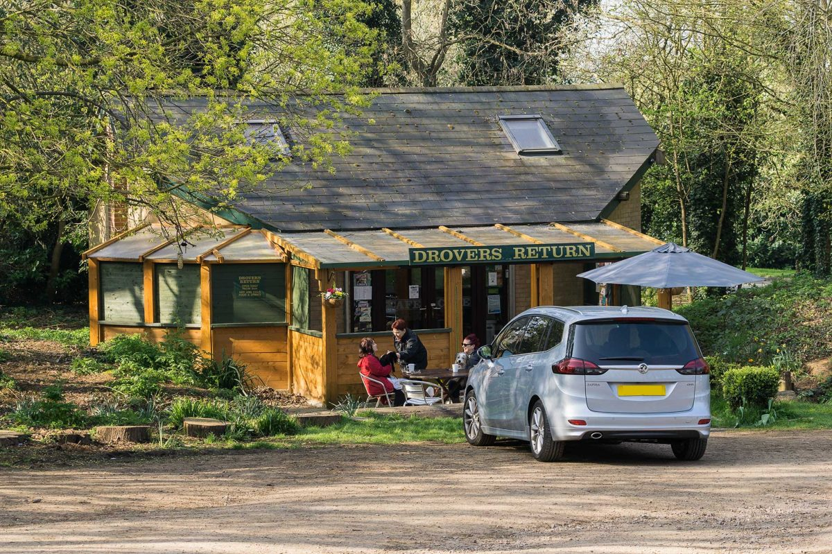 Hunsbury Hill Country Park - Drovers Return Cafe